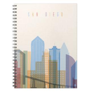San Diego City Skyline Notebook