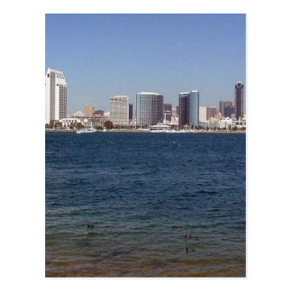 San Diego Downtown Seen From Coranado And Some Duc Postcard