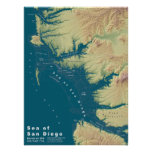 San Diego--Extreme Sea Level Rise Posters