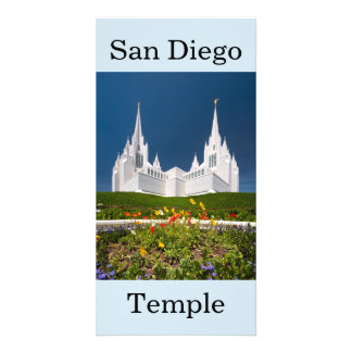 San Diego LDS Temple Card