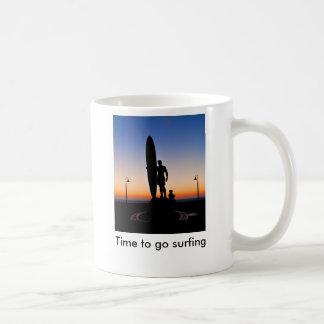 San Diego_LR_-2675 (1), Time to go surfing Coffee Mug