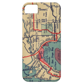 San Diego Map iPhone Case