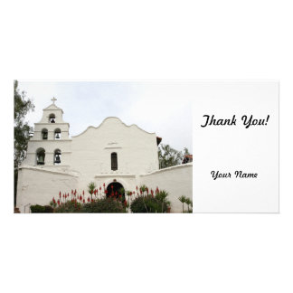San Diego Mission Photo Card Template