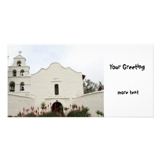 San Diego Mission Picture Card