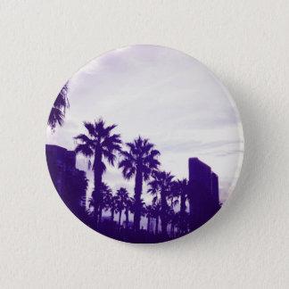 San Diego Purple 6 Cm Round Badge