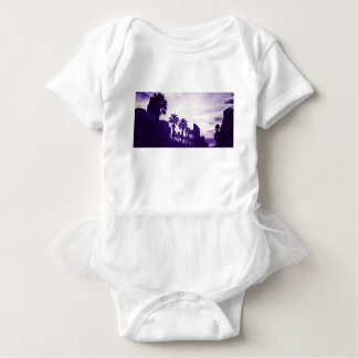 San Diego Purple Baby Bodysuit