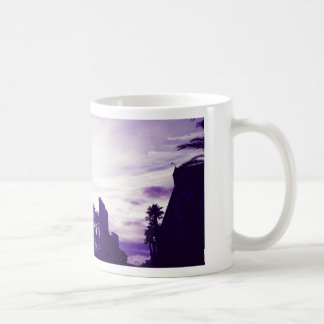San Diego Purple Coffee Mug