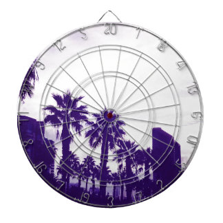 San Diego Purple Dartboard