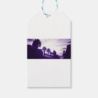 San Diego Purple Gift Tags