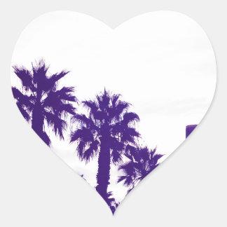 San Diego Purple Heart Sticker