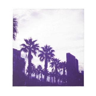 San Diego Purple Notepad