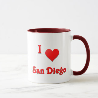 San Diego -- Red Mug