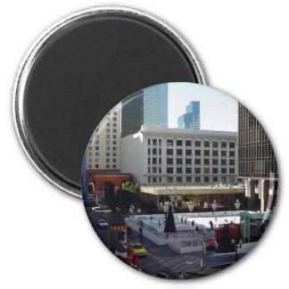 San Diego Skating Skaters Ice Fridge Magnet