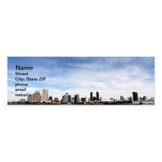 San Diego Skyline Pack Of Skinny Business Cards
