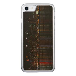 San Diego Skyline Night Carved iPhone 7 Case