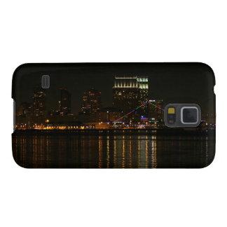 San Diego Skyline Night Case For Galaxy S5