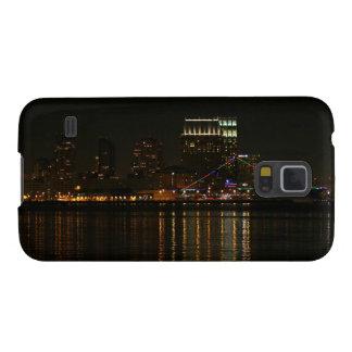San Diego Skyline Night Galaxy S5 Cover