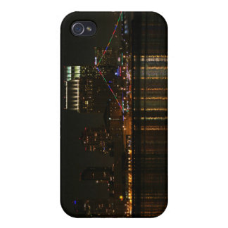 San Diego Skyline Night iPhone 4/4S Cases