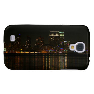 San Diego Skyline Night Samsung Galaxy S4 Case