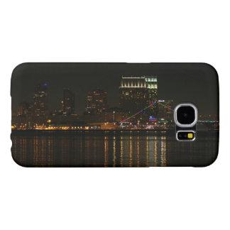 San Diego Skyline Night Samsung Galaxy S6 Cases