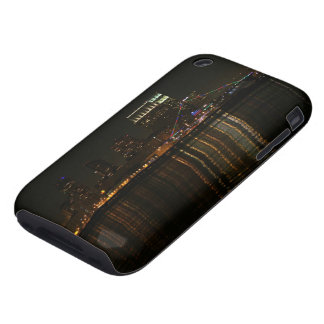 San Diego Skyline Night Tough iPhone 3 Covers