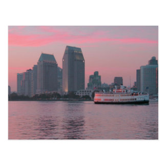 San Diego Skyline Postcard