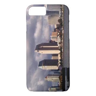 San Diego skyline & storm iPhone case