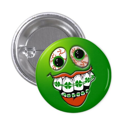 San Diego St. Patricks Day Parade Pinback Buttons