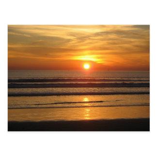 San Diego Sunset 2 Postcard