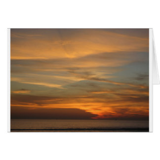 San Diego Sunset Greeting Card