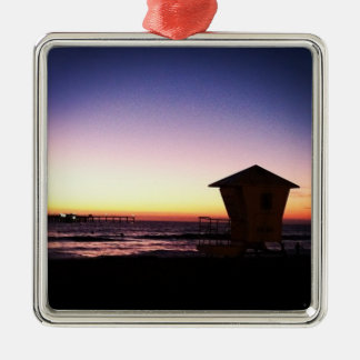 San Diego Sunset Holiday Ornament