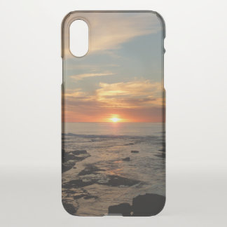 San Diego Sunset II California Seascape iPhone X Case