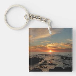 San Diego Sunset II California Seascape Key Ring