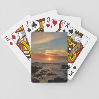 San Diego Sunset II California Seascape Playing Cards