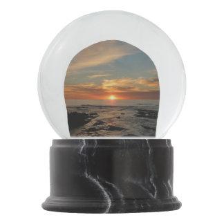 San Diego Sunset II California Seascape Snow Globe