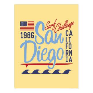 San Diego Surf Challenge 1986 Postcard