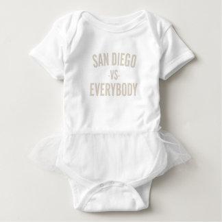 San Diego Vs Everybody Baby Bodysuit
