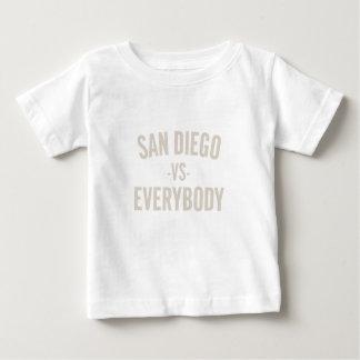 San Diego Vs Everybody Baby T-Shirt