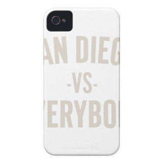 San Diego Vs Everybody iPhone 4 Case