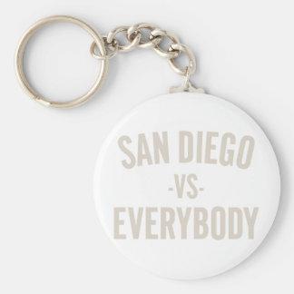 San Diego Vs Everybody Key Ring