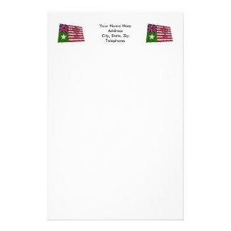San Felipe Flag Customized Stationery