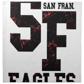 San Fran eagles Napkin