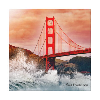 "San Francisco 12"" x 12"", 1.5"", Single Canvas Print"