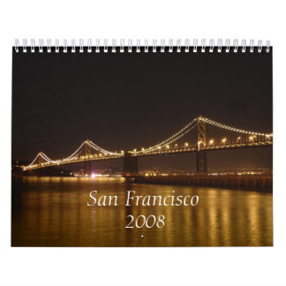 San Francisco  , 2008 2nd Version Wall Calendars