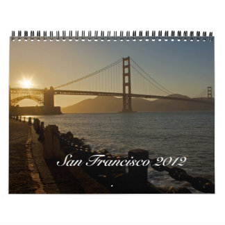 San Francisco 2012 Calendars