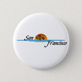 San Francisco 6 Cm Round Badge
