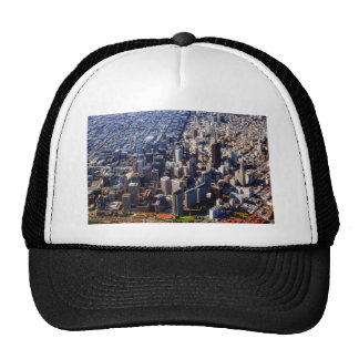 San Francisco Aerial View Trucker Hats