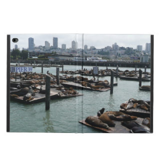 San Francisco and Pier 39 Sea Lions City Skyline Powis iPad Air 2 Case