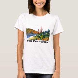 San Francisco and the Beautiful Golden Gate Bridge T-Shirt