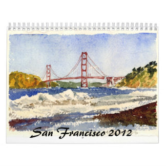 San Francisco and the Gate Wall Calendars
